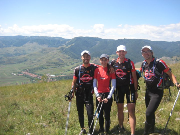 Alina cu echipa, la Carpathian Adventure- cursa extreme de 3 zile de aventura in munti