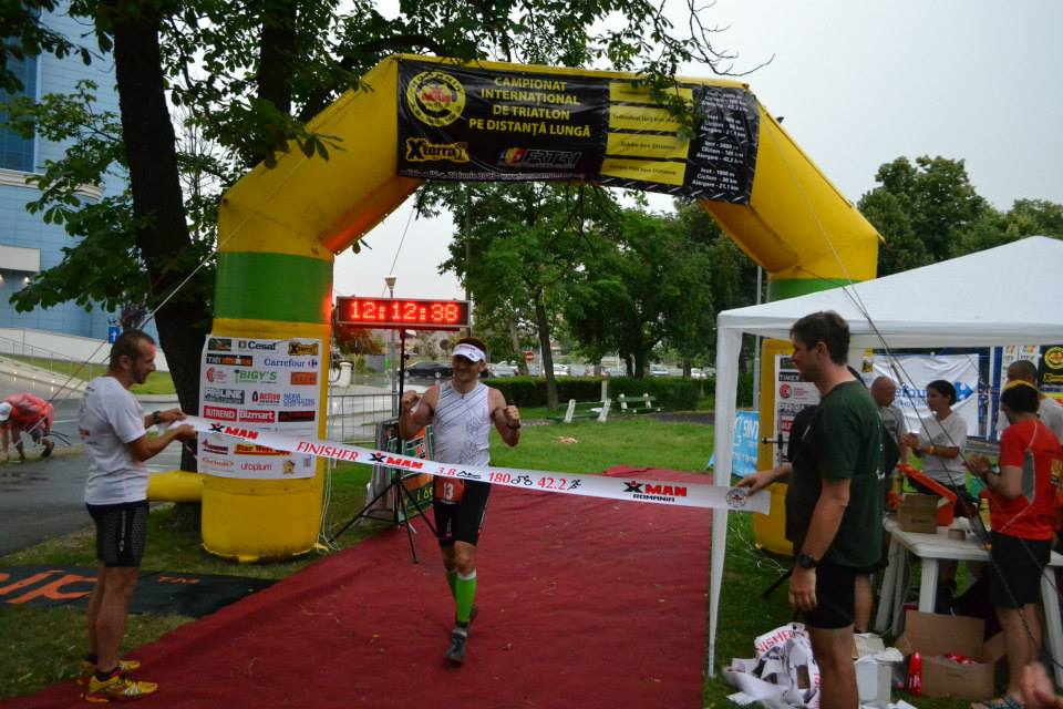 Sebastian Butcovan, la Ironman Oradea