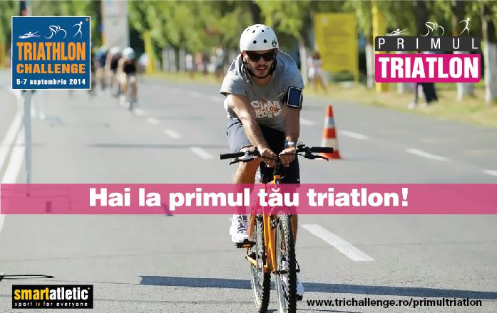 Hai la primul tău triatlon, la Triathlon Challenge Mamaia 2014!