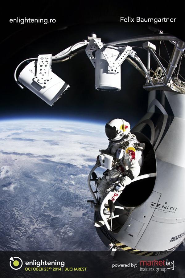Felix Baumgartner, despre spațiu, viață și moarte