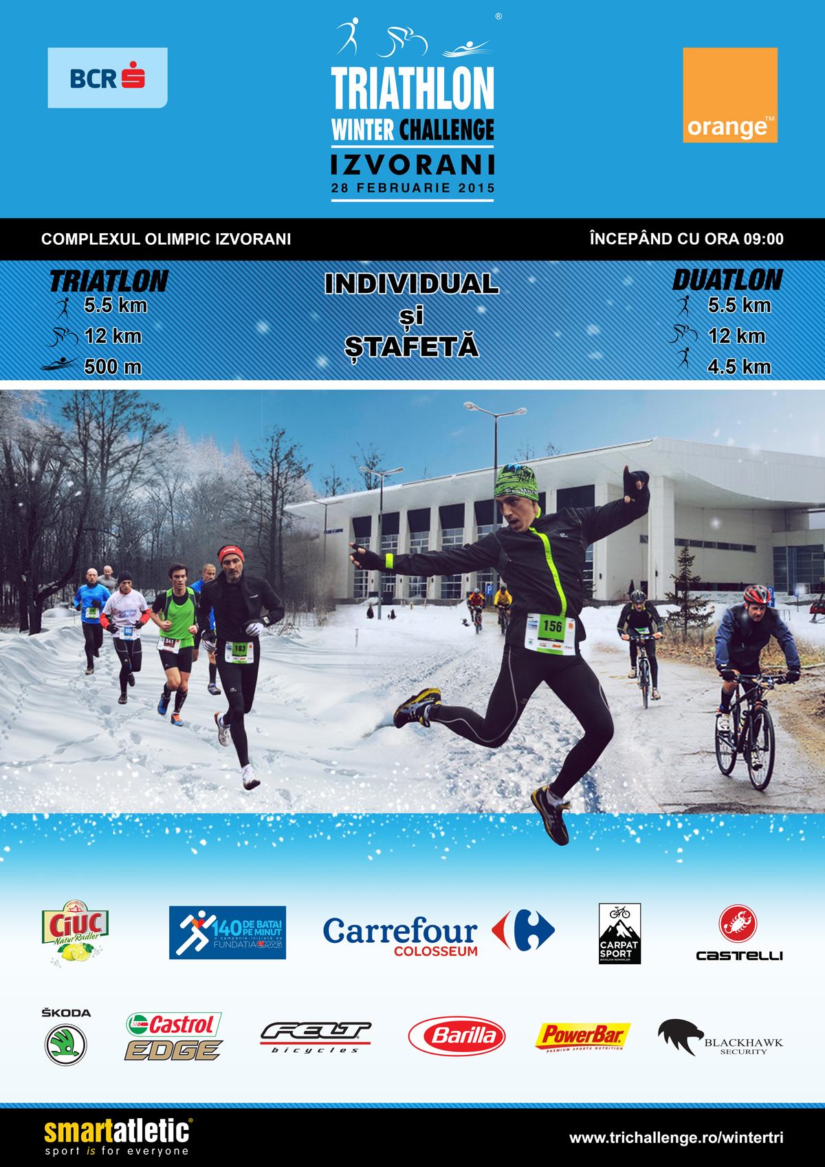 Participi la Winter Tri mâine? Poți câștiga un abonament la CrossFit!