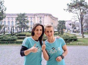 Andreea Răducan și Alina Dumitru