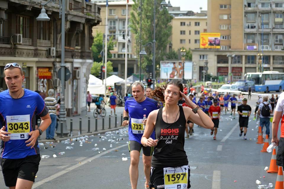 Laura Baciu: Sportul mă face să țin capul sus oriunde