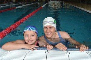 Cu Elena, după înotul tip sirenă