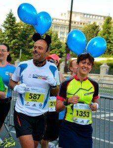 Pacer la Semimaratonul BNucuresti
