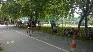 la proba de alergare, la Ironman Klagenfurt
