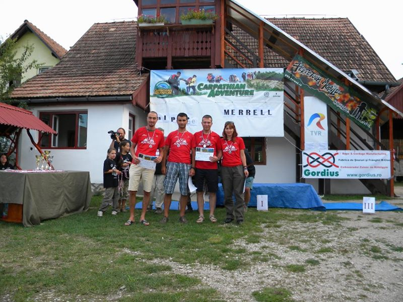 Carpathian Adventure 2011, o aventura extrema