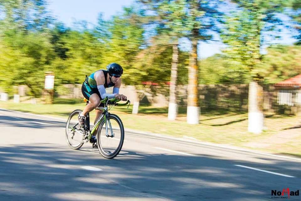 Liviu Dan Zburătura: În 2016 vreau să fiu campion național la triatlon șosea