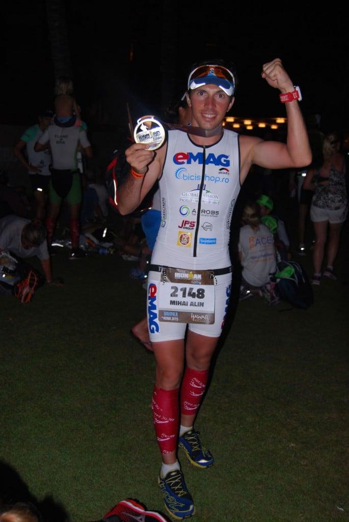 finish Ironman World Chapionship pentru Mihai