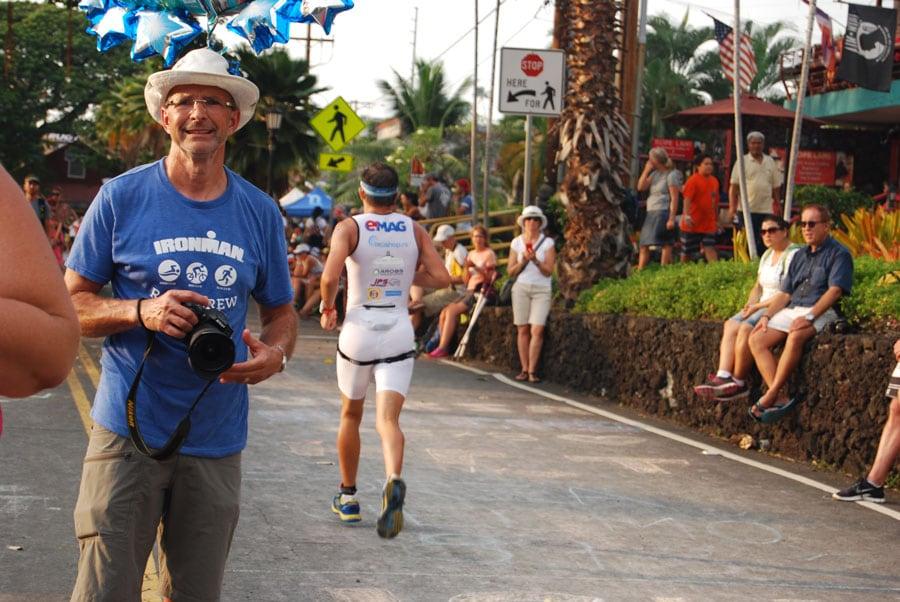 Mihai porneste in proba de alergare - 42 de km