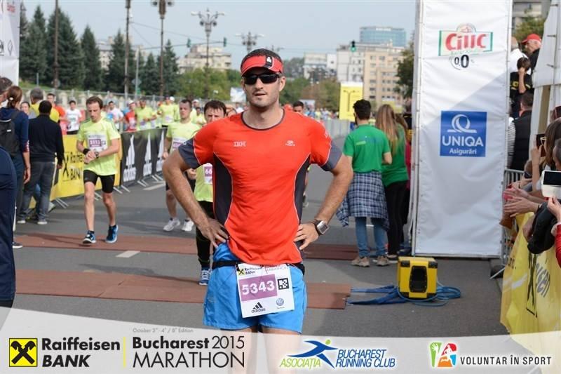 finish Maratonul Bucuresti 2015