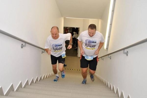 SkyRun, cea mai mare competiție de alergare pe scări din țară, în acest weekend!