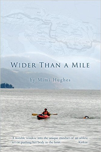 Two women, one river. The cover of the book Mimi wrote about the incredible expedition of swimming the Danube