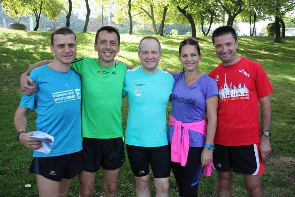 cu prieteni la alergare, fotocredit Sunday Titan Run