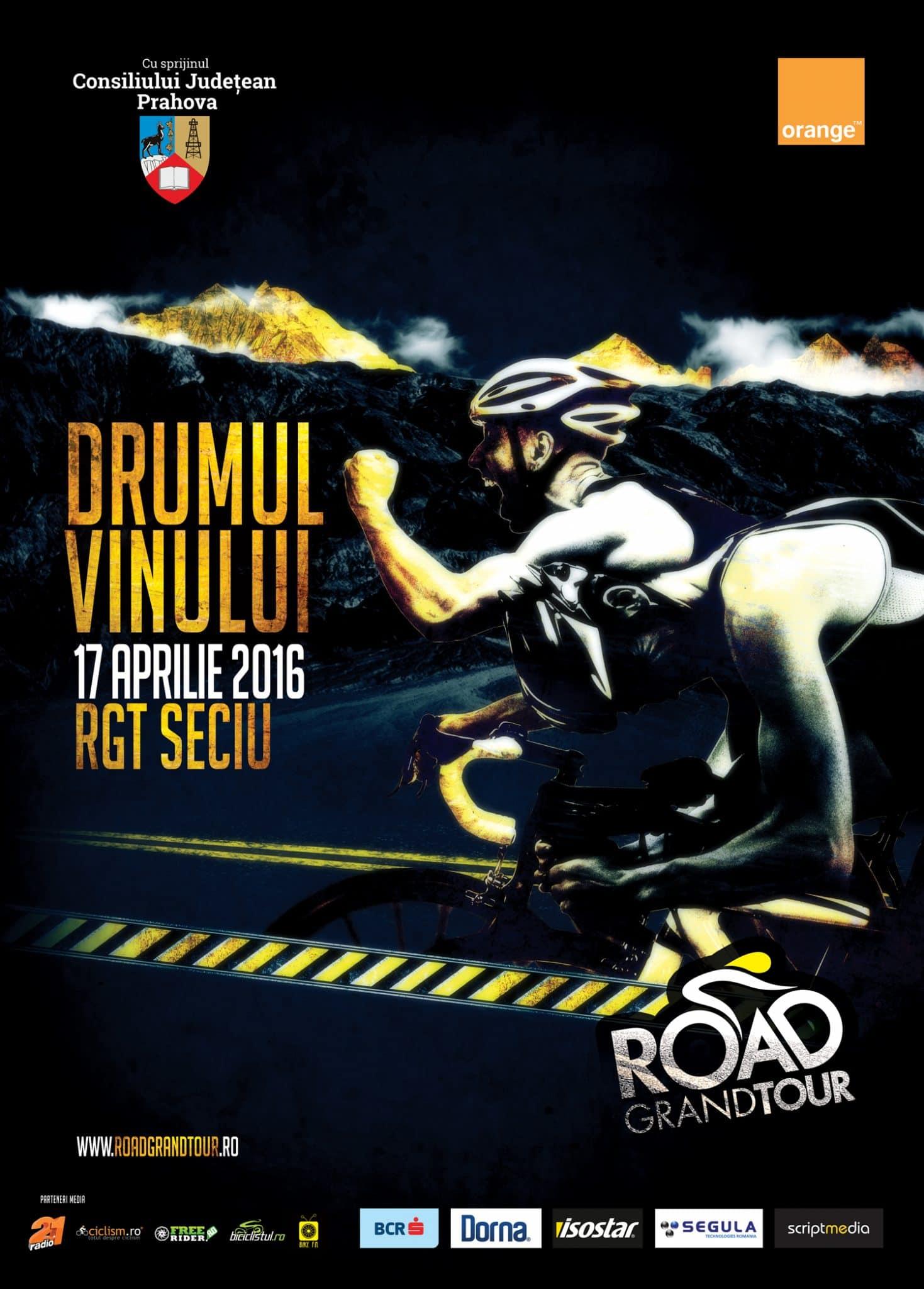 Se dă startul Road Grand Tour 2016!