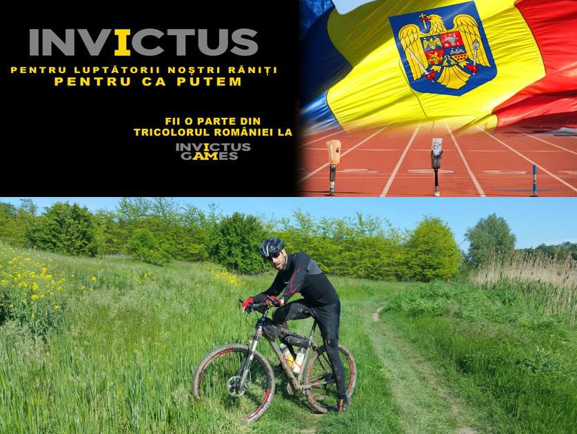 Haideți să trimitem 5 soldați Invictus România la Jocurile Paralimpice 2017 din Canada!