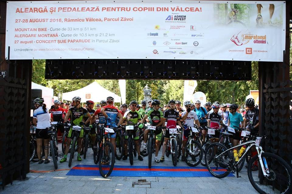 start proba de mountainbike