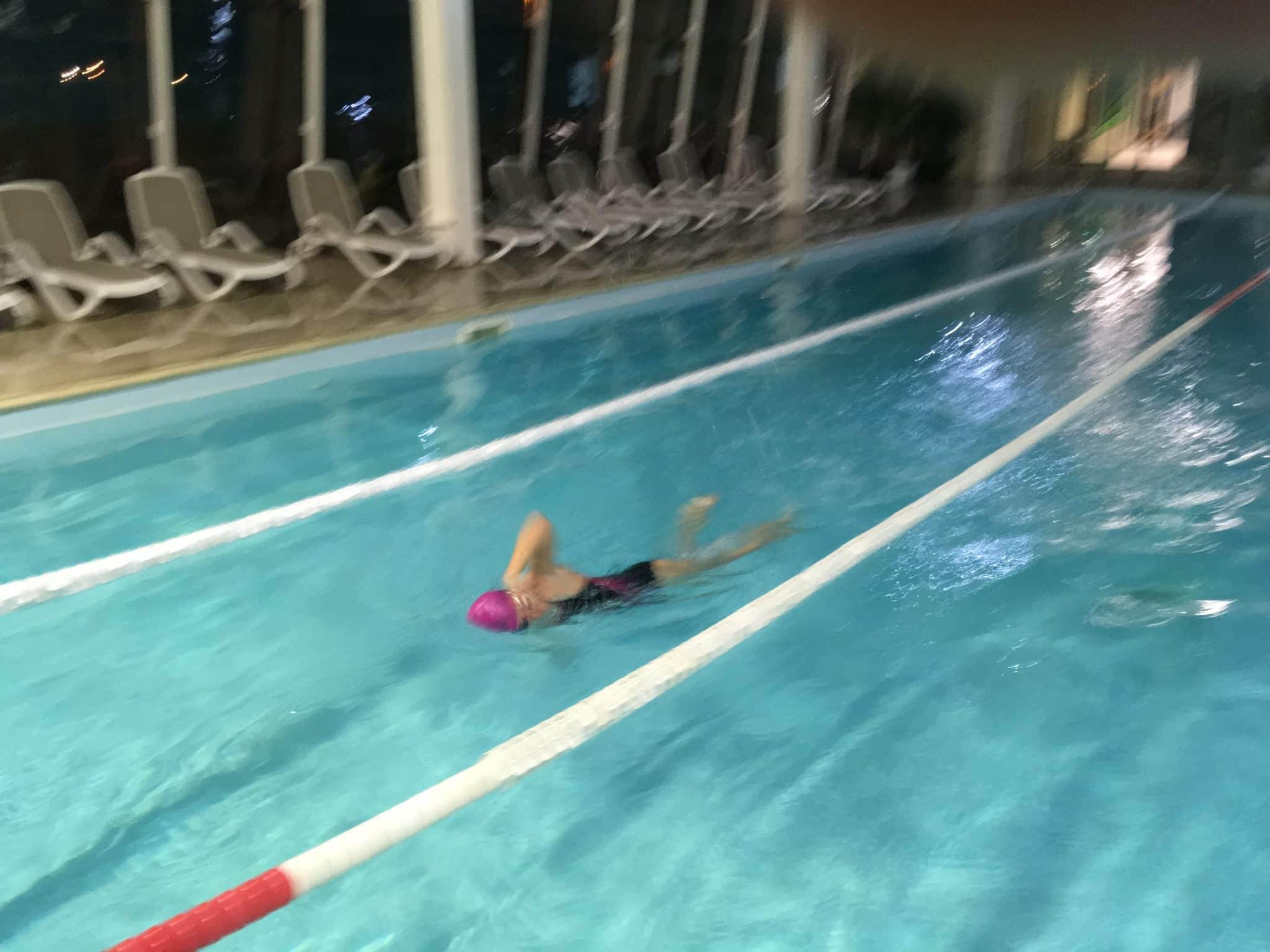 Am înotat 7 km. Cum a fost