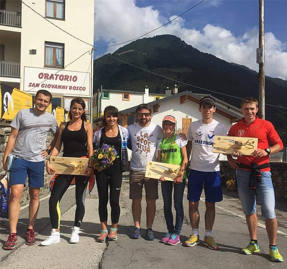(c) arhiva personala: Giir Di Mont, alaturi de alti 2 romani pe podium: Denisa Dragomir, loc 2 general feminin si Andrei Preda, loc 3 categorie de varsta, masculin