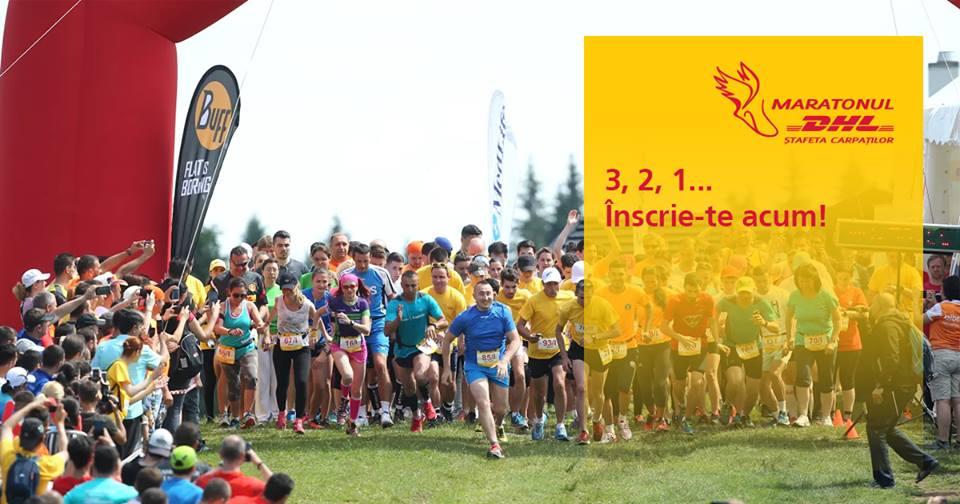 Maratonul DHL Ștafeta Carpaților – pe 17 iunie!