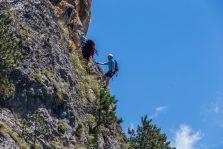 Cel mai spectaculos traseu montan Via Ferrata din România, inaugurat de alpinistul Constantin Lăcătușu