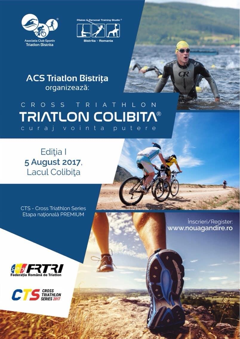 Încă un triatlon offroad în calendarul competițional: Colibița, Bistrița