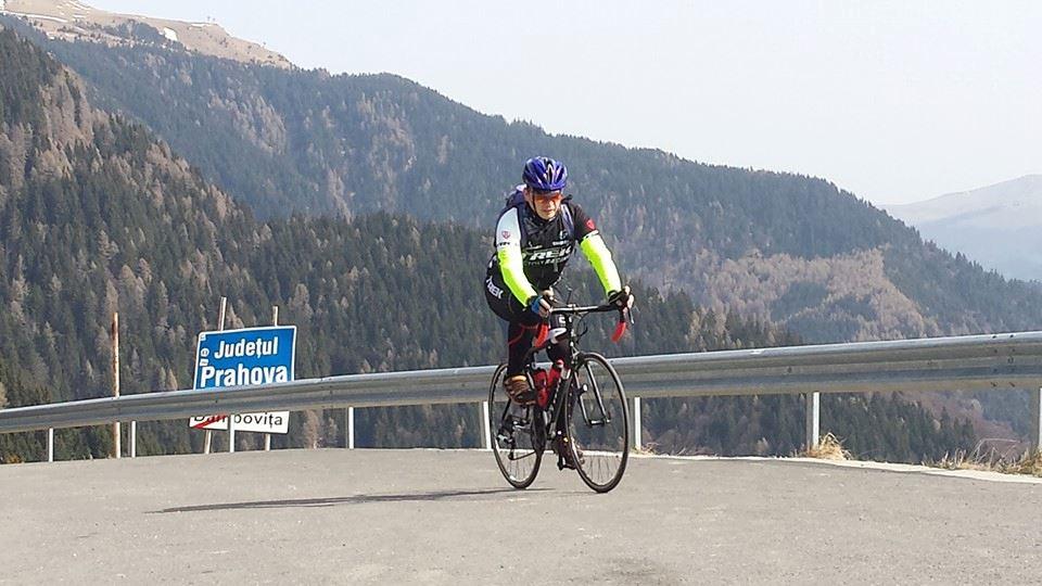 Cezar Romaniuc: Când pedalez mă limpezesc la cap