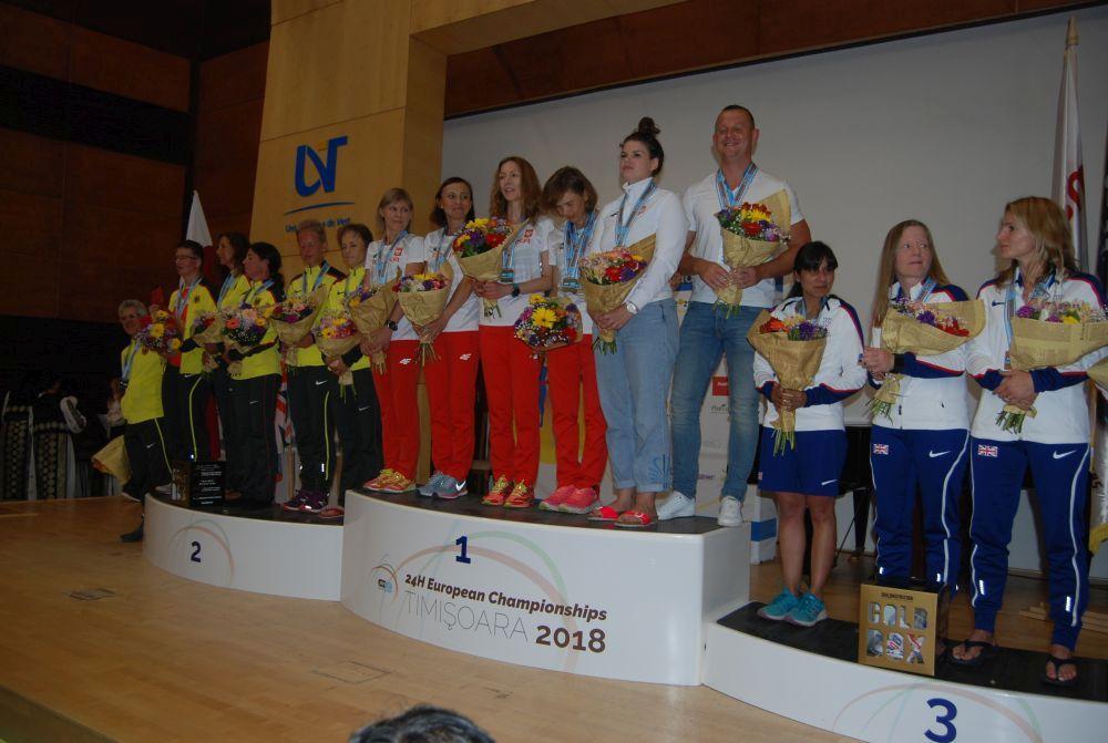 Câştigătorii Campionatului European de 24 de ore de alergare