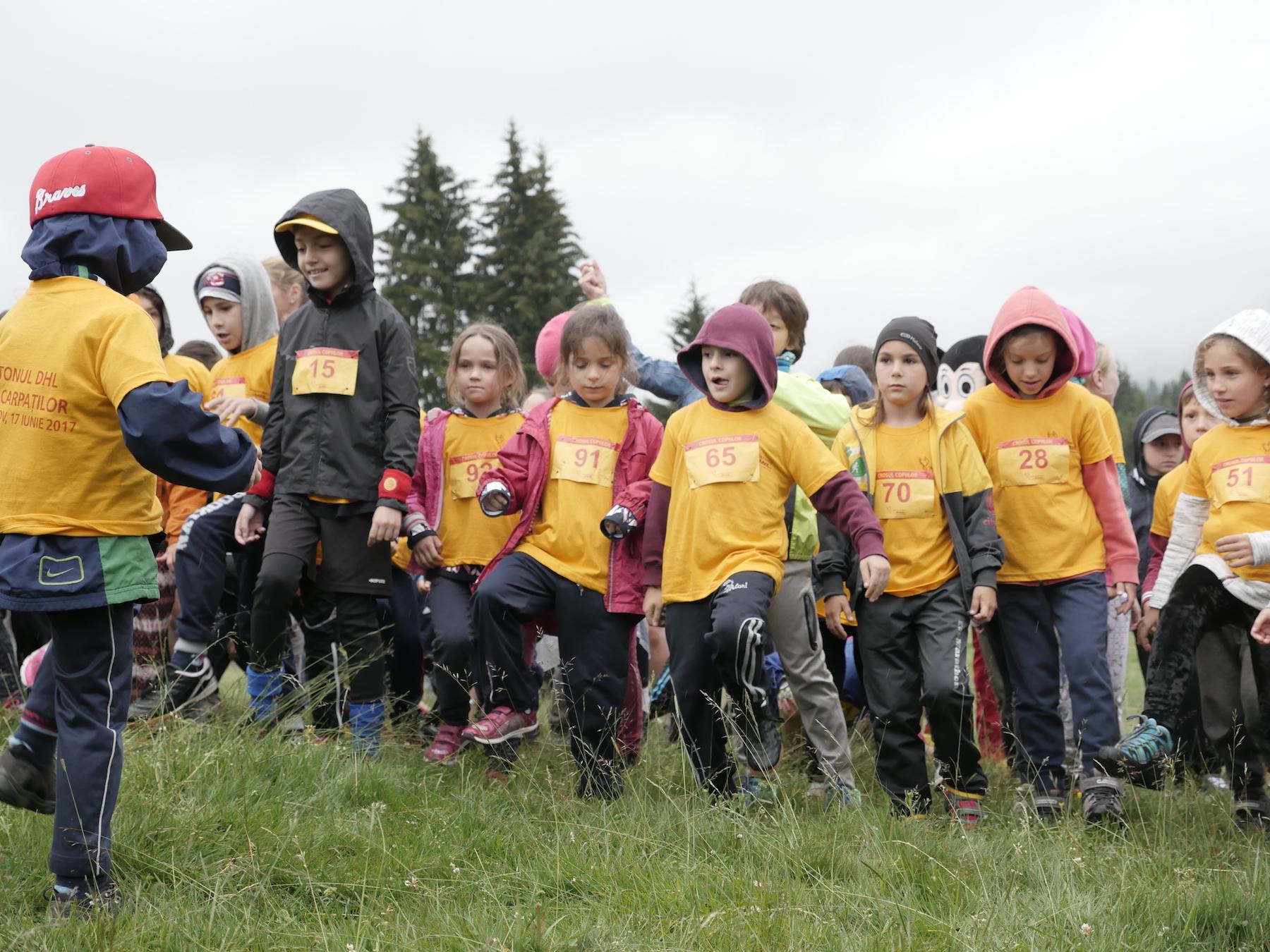 DHL Marathon – inscriere gratuită pentru copii