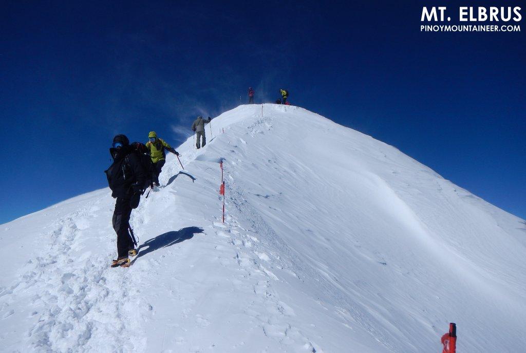 Primul român pe Elbrus – ruta nordică