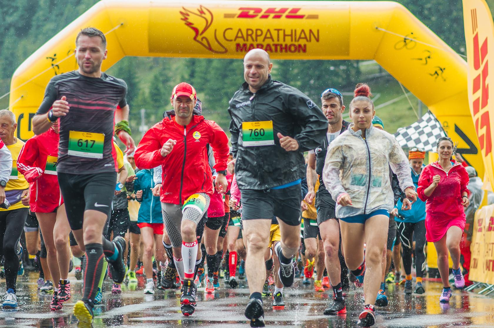 DHL Marathon, pentru sportivii paralimpici români