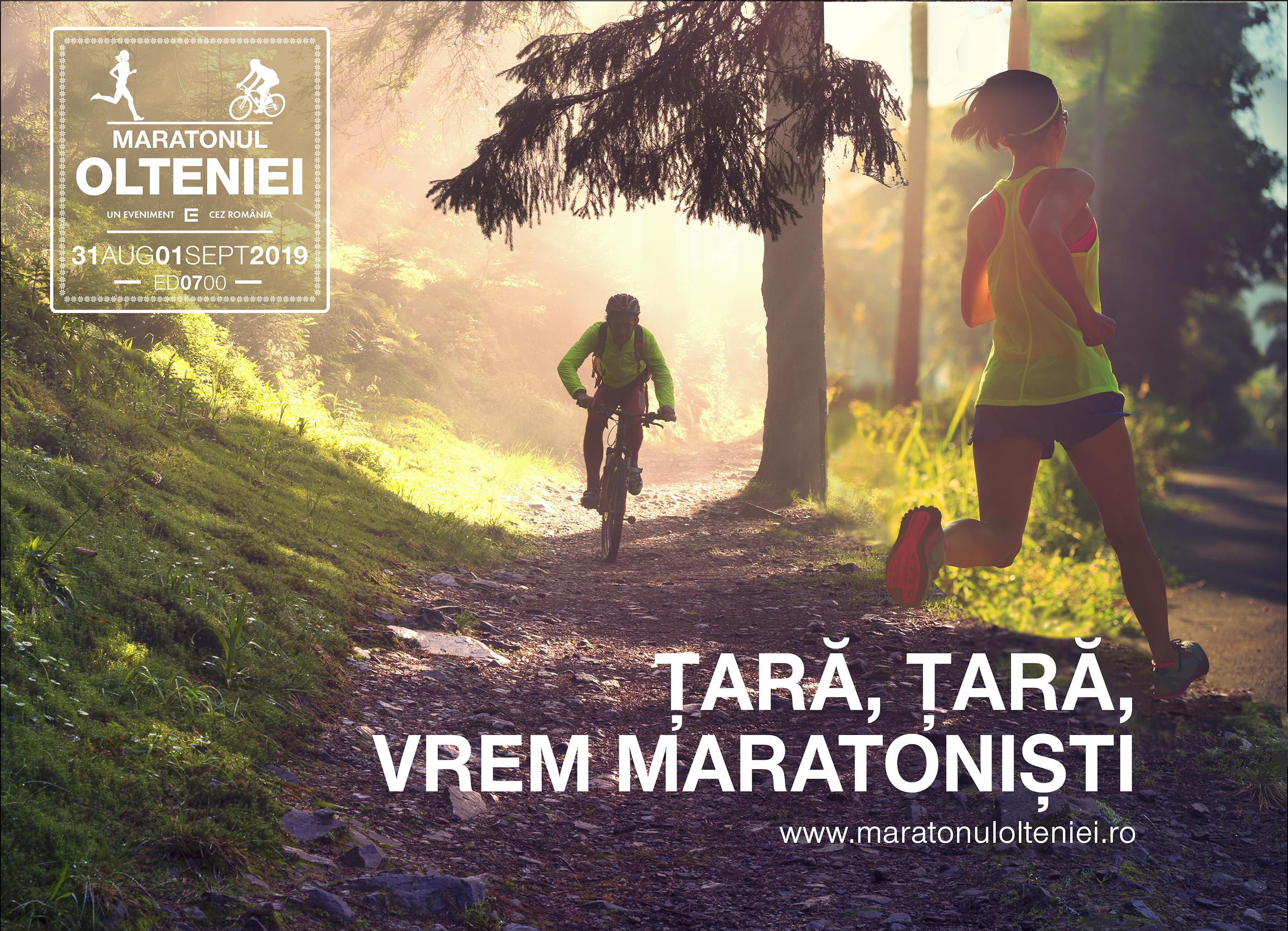 Ținutul Maratonul Olteniei deschide granițele