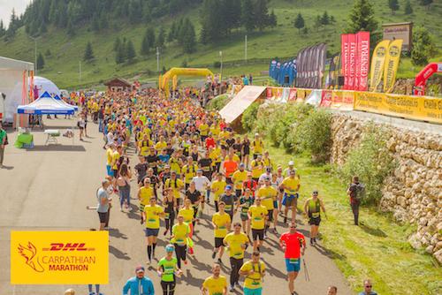 Sumă record la DHL Carpathian Marathon