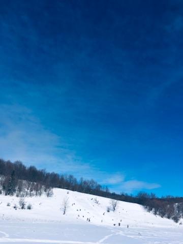 Feerie de iarnă la Pastel Chalet