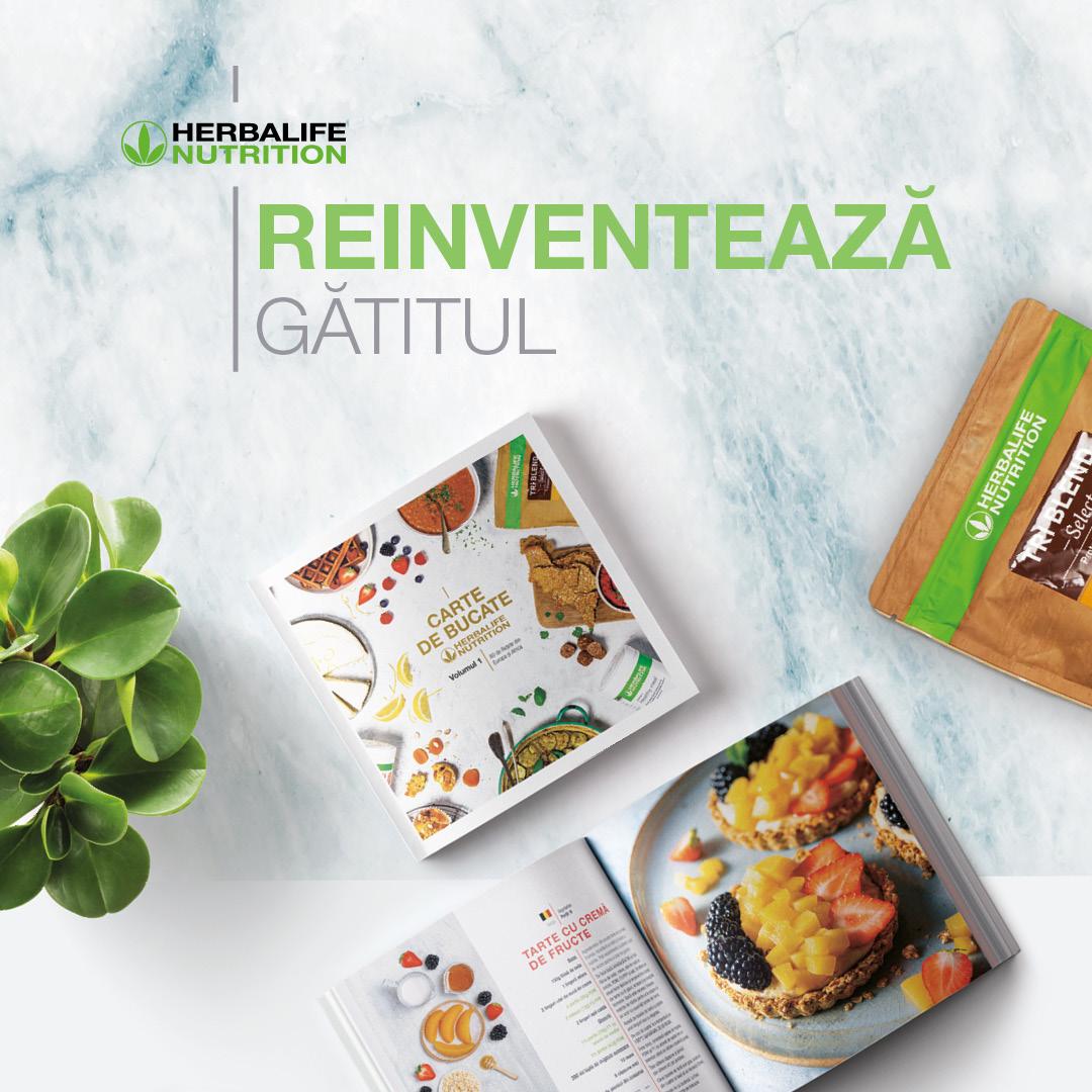 Gătitul reinventat, cu Herbalife Nutrition